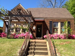 Crafts & Quilting, Etc. is located in the Historical Brick Street Area of Tyler.